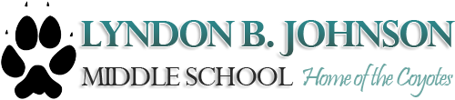 Lyndon B. Johnson Middle School  Logo